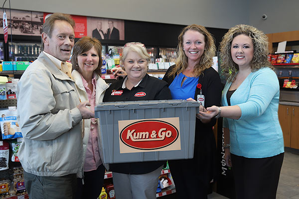 kum and go donation